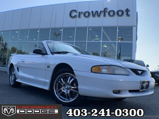 Clearance 1995 FORD MUSTANG GT 5.0L AUTOMATIC COUPE  Convertible for sale in Calgary, AB