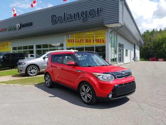 2015 Kia Soul SX Luxury Hatchback