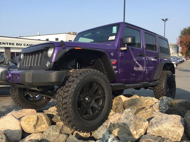 2017 Jeep Wrangler Sahara 4 Portes Lift KIT 2.5 MAG VUS