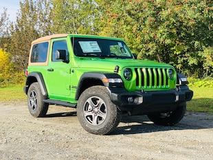 2020 Jeep Wrangler Black and Tan Edition VUS