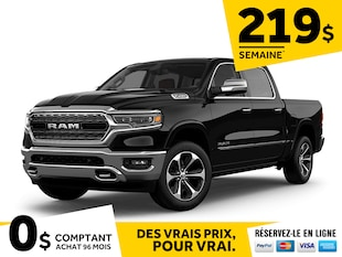 2020 Ram 1500 Limited all new Eco Diesel Camion cabine Crew