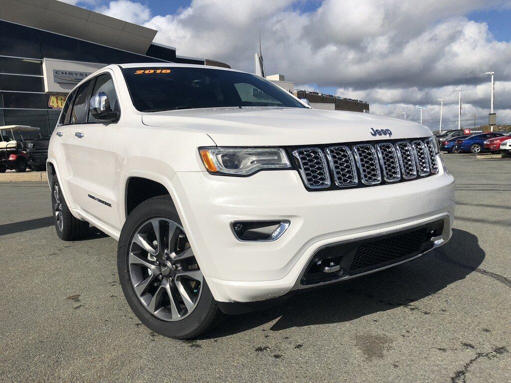 2018 Jeep Grand Cherokee Overland Overland 4x4