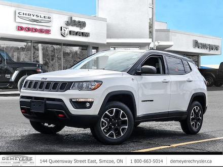 2021 Jeep Compass TRAILHAWK | SAFETY AND CONVENIENCE GRP 4x4