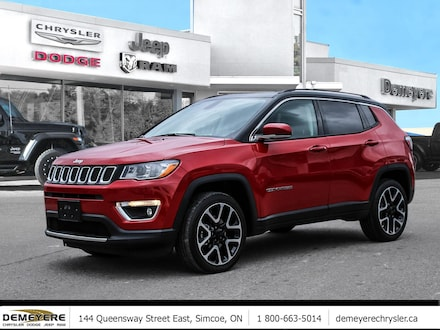 2020 Jeep Compass LIMITED | LEATHER | NAVIGATION  SUV