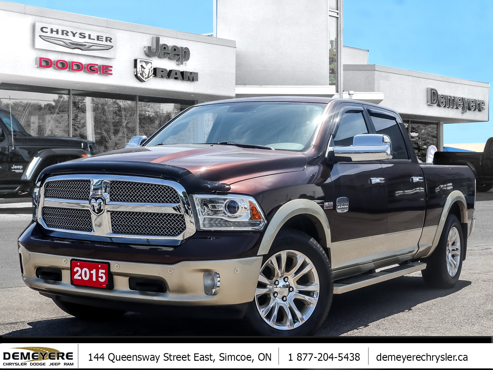 2015 Ram 1500 LONGHORN | SUNROOF | NAVIGATION | AIR SUSPENSION Truck Crew Cab