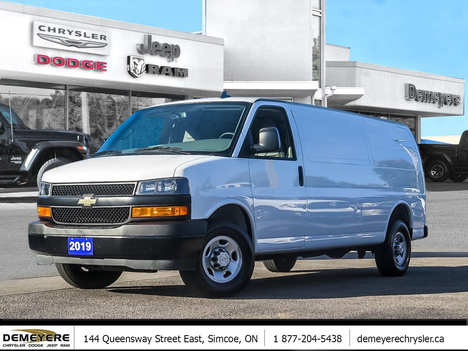 2019 Chevrolet Express 2500 WORK/CARGO VAN   POWER PKG   A/C  Van Extended Cargo Van