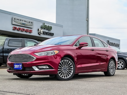 2017 Ford Fusion SE | AWD | LEATHER | SUNROOF | NAVIGATION Sedan