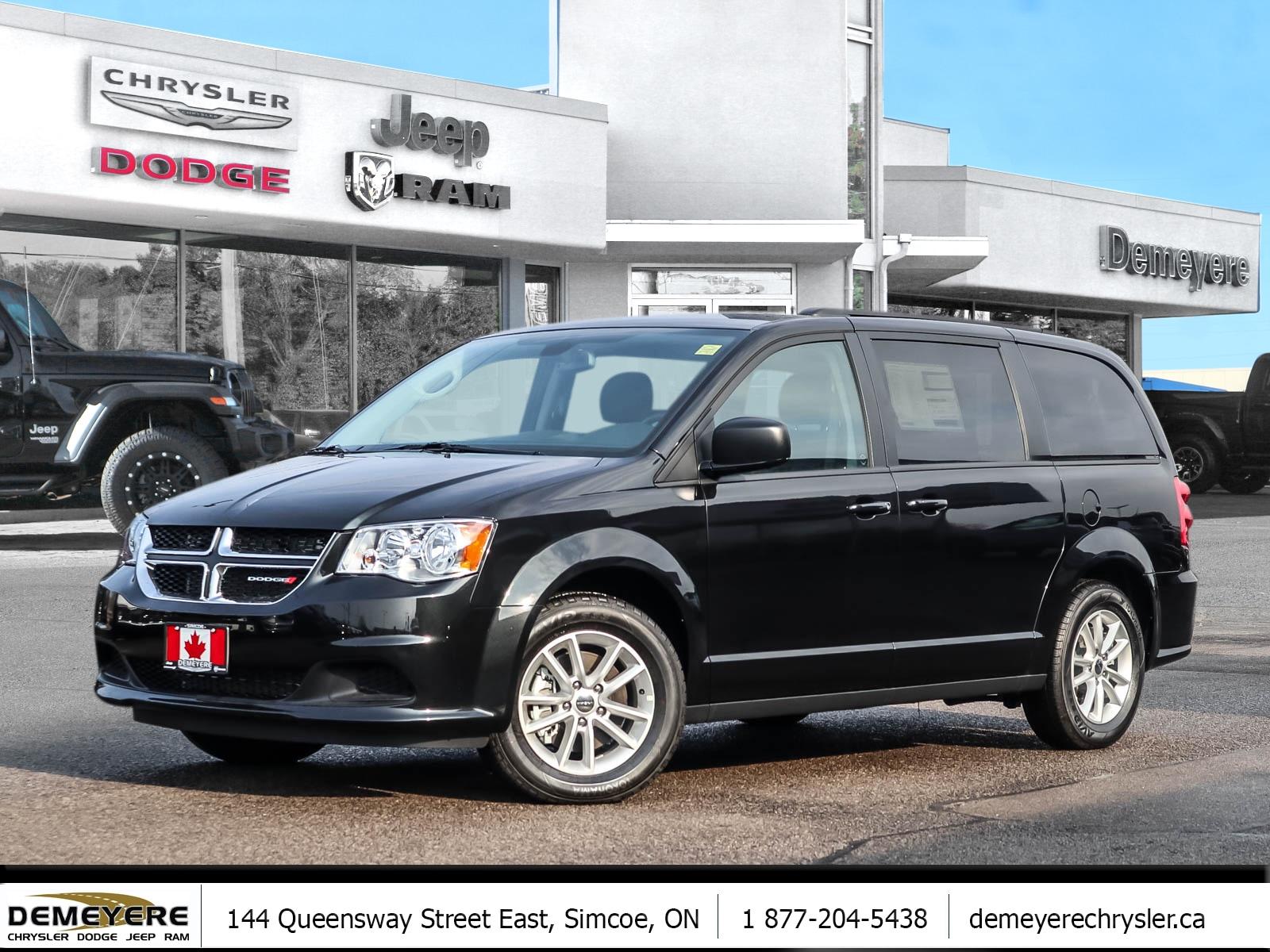2019 Dodge Grand Caravan SXT   REAR DVD   ONLY $86 PER WEEK-0 DOWN* Van