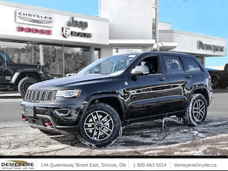2021 Jeep Grand Cherokee TRAILHAWK | LEATHER | PLUS $750 BONUS CASH OFF 4x4