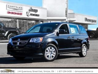 2019 Dodge Grand Caravan CANADA VALUE PKG | THIRD ROW STOW N GO | MATS  Van
