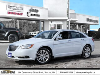 2013 Chrysler 200 LIMITED | LEATHER | SUNROOF  Sedan