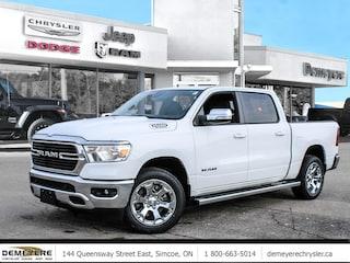 2021 Ram 1500 BIG HORN | 0% FINANCING PLUS $1500 BONUS CASH OFF 4x4 Crew Cab 144.5 in. WB