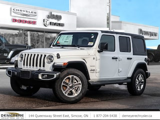 2020 Jeep Wrangler UNLIMITED SAHARA | DUAL TOP | LEATHER | NAVIGATION SUV
