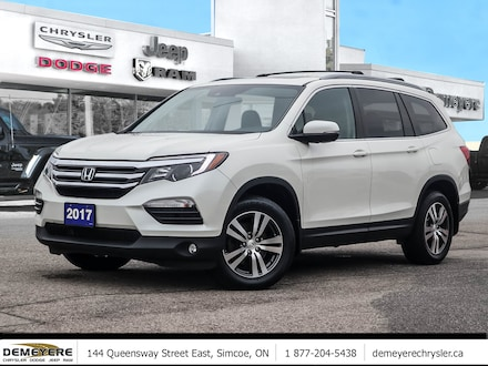 2017 Honda Pilot EX-L | HEATED LEATHER SEATS | NAVI | SUNROOF  SUV