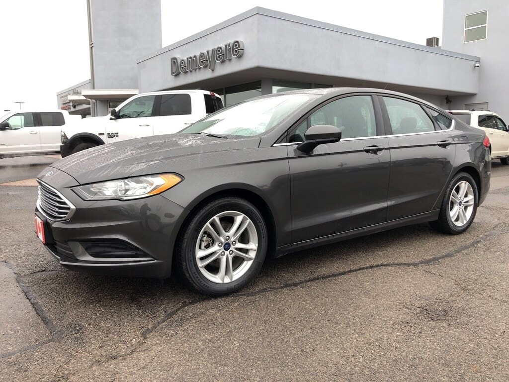 2018 Ford Fusion SE | SUNROOF | BACK-UP CAM | BLUETOOTH | ALLOYS Sedan