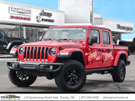 2020 Jeep Gladiator RUBICON | LEASE FOR $299 BI-WEEKLY* | COMPANY DEMO Truck Crew Cab