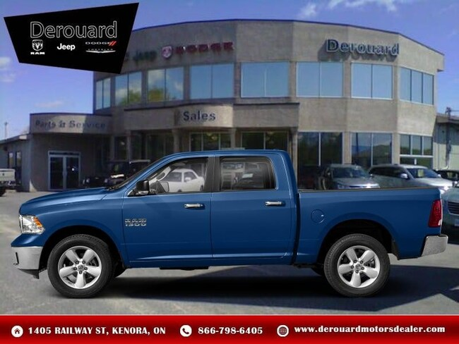 2019 Ram 1500 Classic SLT - Hemi V8 Truck Crew Cab in Kenora, ON, at Derouard RAM Jeep Dodge Chrysler