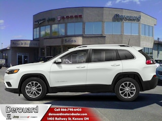 2020 Jeep Cherokee Trailhawk Elite - Sunroof SUV in Kenora, ON, at Derouard RAM Jeep Dodge Chrysler