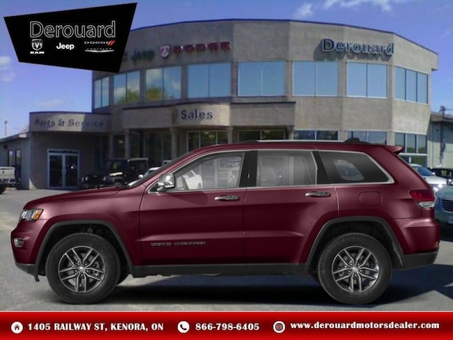 2019 Jeep Grand Cherokee Limited X - Leather Seats SUV in Kenora, ON, at Derouard RAM Jeep Dodge Chrysler