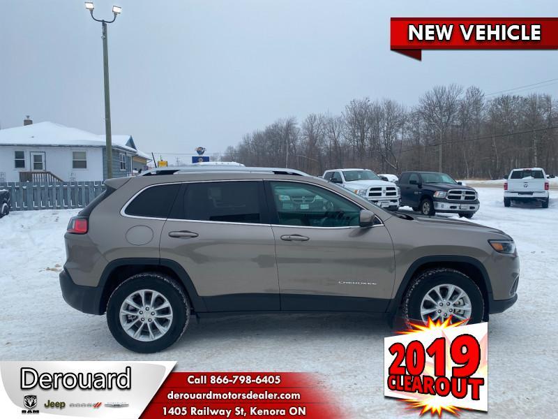 2019 Jeep New Cherokee North - Sunroof - Heated Seats SUV