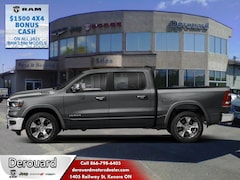 2021 Ram 1500 Laramie -  Leather Seats 4x4 Crew Cab 144.5 in. WB