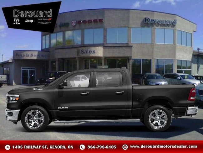 2019 Ram All-New 1500 Laramie - Leather Seats -  Cooled Seats Truck Crew Cab in Kenora, ON, at Derouard RAM Jeep Dodge Chrysler