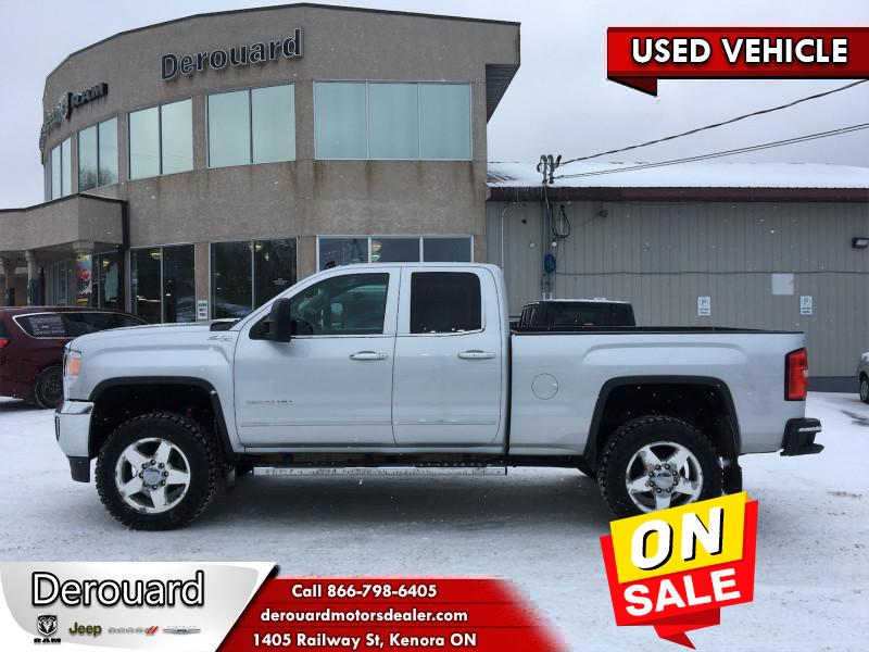 2015 GMC Sierra 2500HD Slt  - Leather Seats -  Bluetooth Double Cab