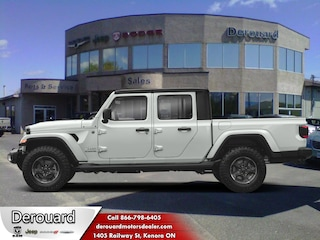 2020 Jeep Gladiator Overland - Leather Seats Truck Crew Cab in Kenora, ON, at Derouard RAM Jeep Dodge Chrysler