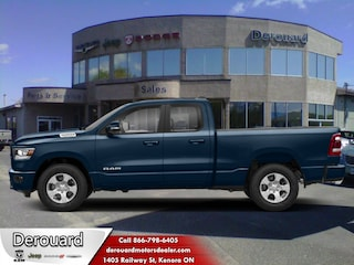 2020 Ram 1500 Big Horn - Hemi V8 Truck Quad Cab in Kenora, ON, at Derouard RAM Jeep Dodge Chrysler