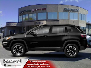 2019 Jeep Compass Trailhawk - Off Road Ready SUV in Kenora, ON, at Derouard RAM Jeep Dodge Chrysler