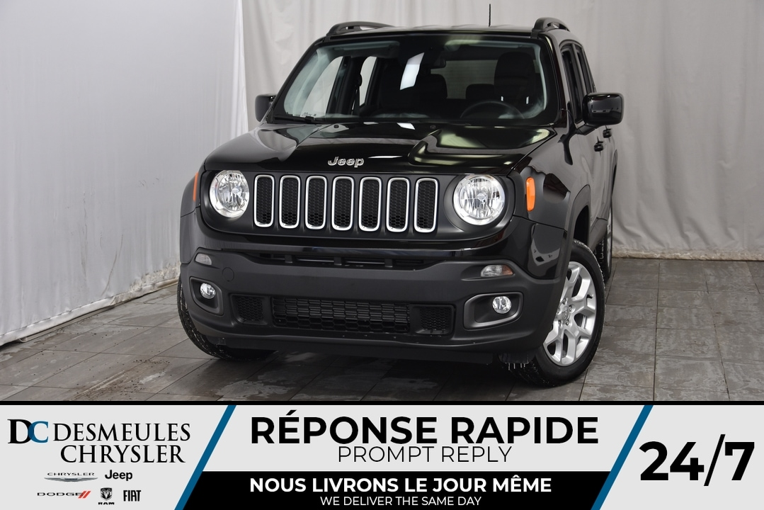2018 Jeep Renegade North + BANCS CHAUFF VÉHICULE NEUF ! VUS