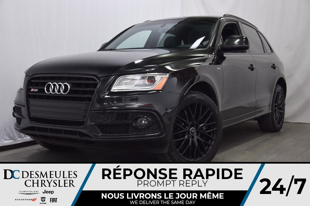 2016 Audi SQ5 3.0T TECHNIK *JAMAIS ACCIDENTÉ* V6 SUPERCHA VUS