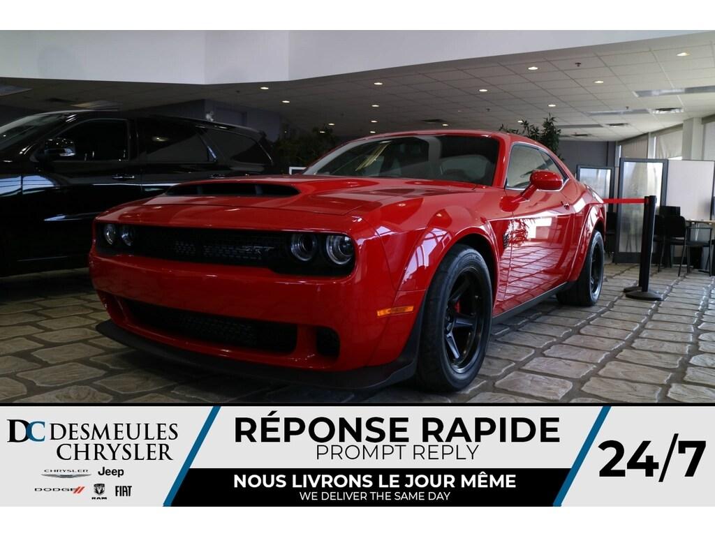 2018 Dodge Challenger SRT DEMON * 840 HP * NAV * COULEUR RARE Coupé