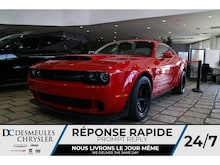 2018 Dodge Challenger SRT DEMON * 840 HP * NAV * COULEUR RARE Coupé