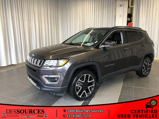 2018 Jeep Compass Limited Limited VUS