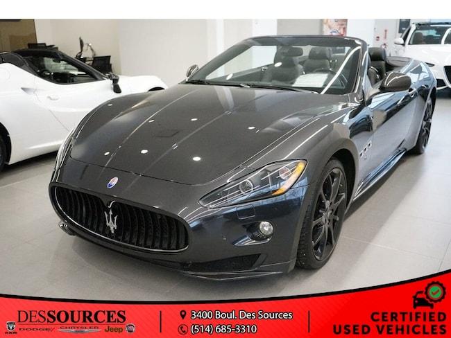 2012 Maserati Granturismo S Décapotable ou cabriolet