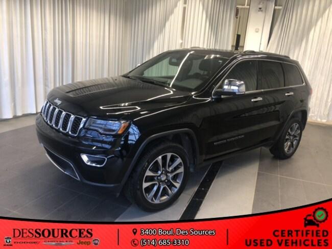 2018 Jeep Grand Cherokee Limited Limited Luxury grp II VUS