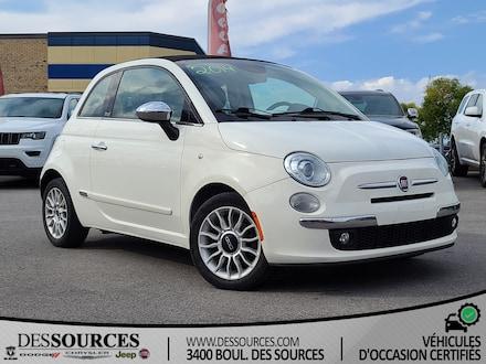 2014 FIAT 500c Lounge | Décapotable | PNEUS+FREINS NEUFS.  Décapotable ou cabriolet