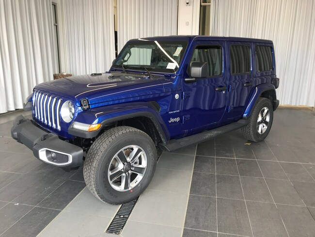 2019 Jeep Wrangler Unlimited Sahara VUS