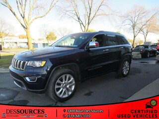 2017 Jeep Grand Cherokee Limited VUS