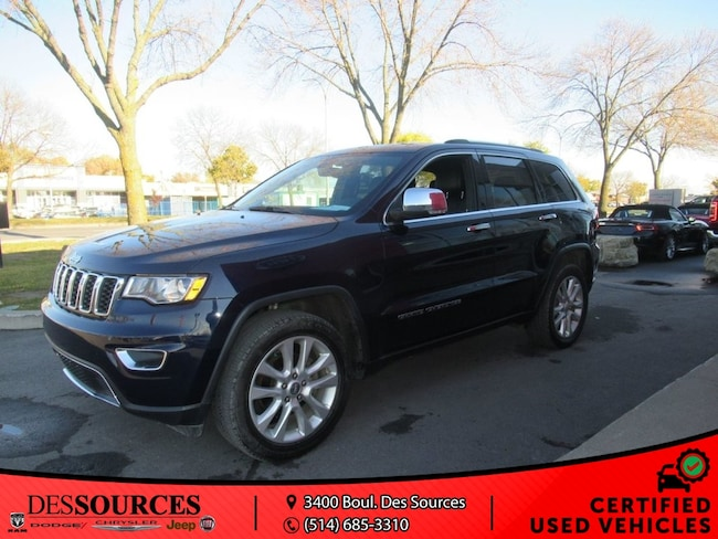 2017 Jeep Grand Cherokee Limited Limited VUS
