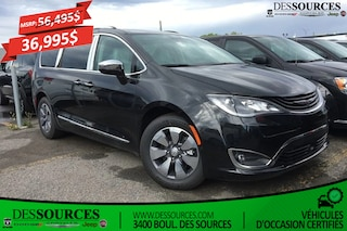 2017 Chrysler Pacifica Hybrid Platinum | Full Option | Cuir | Écran UConnect 8.4 Van Passenger Van
