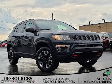 2018 Jeep Compass Trailhawk   4X4   Toit Ouvrant   Android   VUS