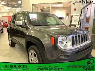 2017 Jeep Renegade 4WD 4DR LIMITED VUS