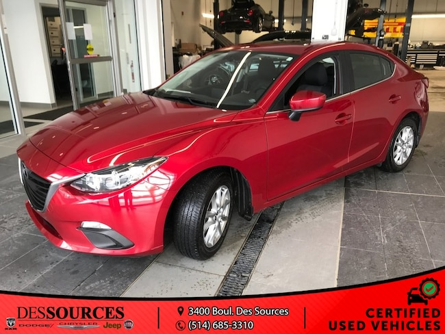 2016 Mazda Mazda3 Touring GS Berline