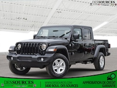 2021 Jeep Gladiator SPORT S 4X4 4x4 Crew Cab 5 ft. box