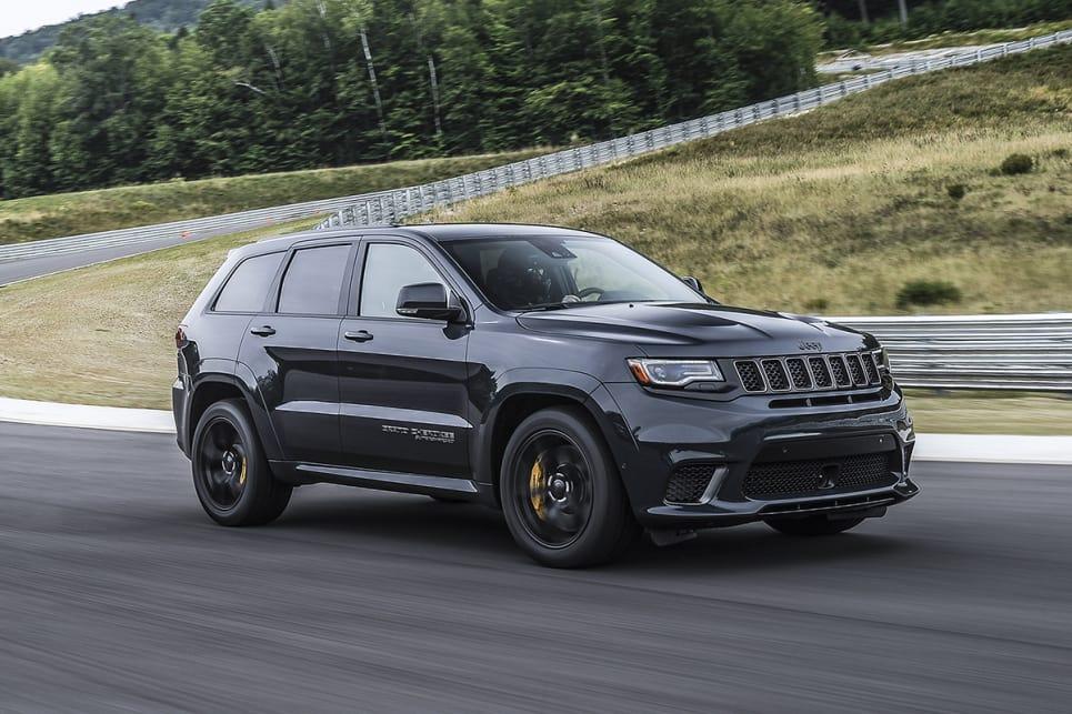 2018 Jeep Grand Cherokee Trackhawk 707HP