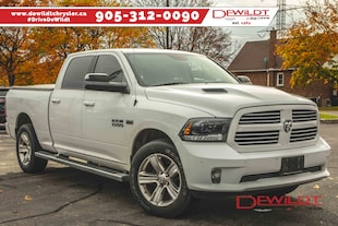 2015 Ram 1500 SPORT | HEATED LEATHER | SUNROOF | NAV | Crew Cab