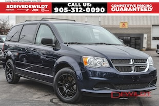2017 Dodge Grand Caravan SXT | ONE OWNER | BOUGHT AND SERVICED HERE | FULL STOW 'N' GO