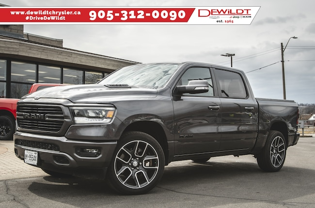 2019 Ram All-New 1500 SPORT | 4X4 | NAV | SPORT HOOD | 22-IN WHEELS | Crew Cab